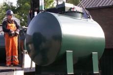 Dieselolietank saneren/levering