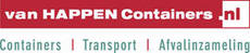 Van Happen Containers logo