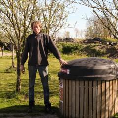 Jan en Cobie de Kruijf, Leusden: 'Een nette oplossing voor bedrijfsafval'