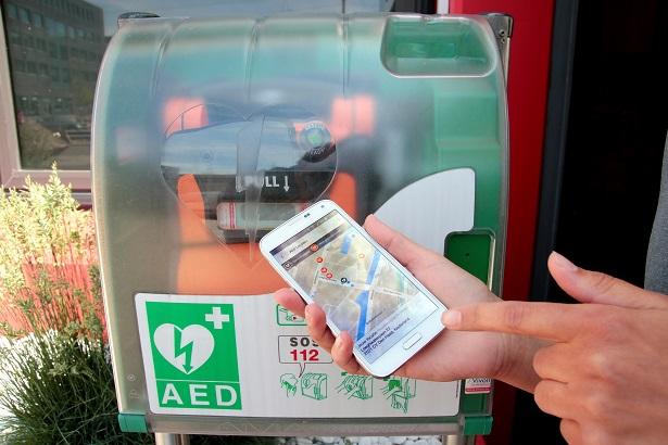 Een AED bij u in de buurt?