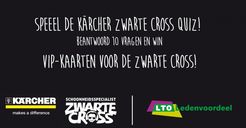 Win gratis kaarten voor de Zwarte Cross met de Kärcher-LTO Zwarte Cross-quiz