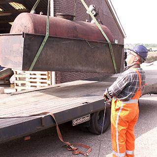 Voorkom boete oude dieselolietank