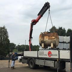 Gemeentes inspecteren dieselolietanks