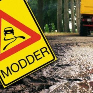 8 tips bij modder op de weg