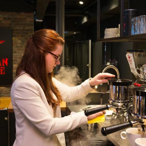 Win koffieautomaat van Pelican Rouge