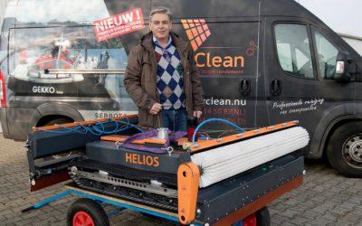 Robot reinigt zonnepanelen grondig