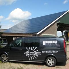 Veel ervaring met het installeren van zonnepanelen