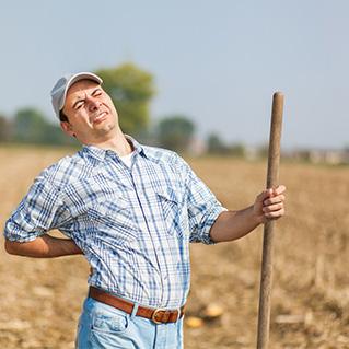 1 op de 4 agrariërs heeft geen vangnet bij arbeidsongeschiktheid