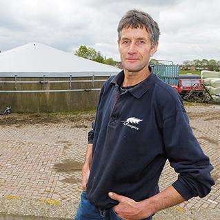 Met silokap voldoet melkveehouder aan afdekverplichting