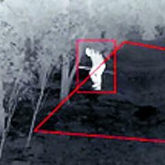 Camera 'ziet' ook in het donker
