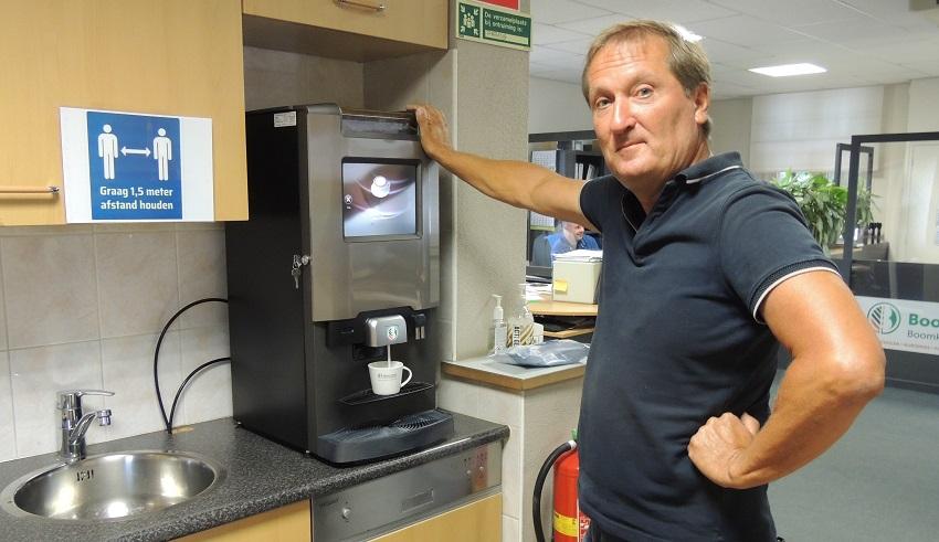 Lekkere koffie, goede service en een substantiële korting