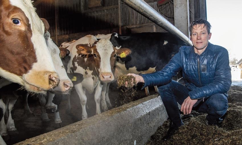 Melkveehouder Lennard Lamberts: 'Vast energiecontract niet meer van deze tijd'