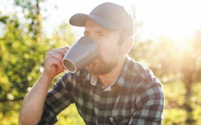 Een kop welverdiende koffie