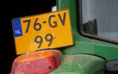 Tweederde moet landbouwvoertuig nog registreren bij RDW