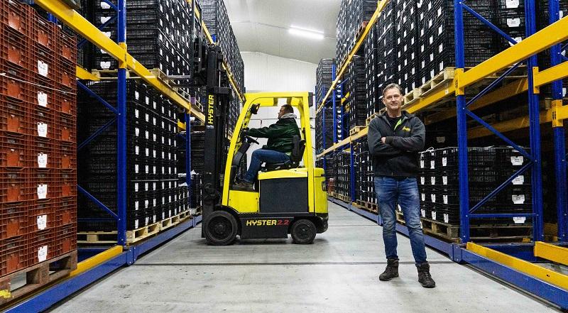 Laan Flora Facilities en Koelhuis WFO vertrouwen al 30 jaar op Hyster heftrucks en de service van Heffiq